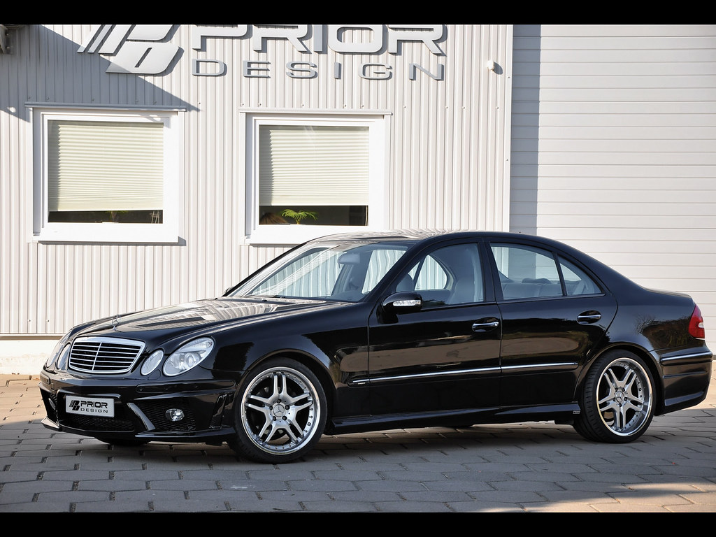 mercedes e class w211 full body kit front bumper side. Black Bedroom Furniture Sets. Home Design Ideas