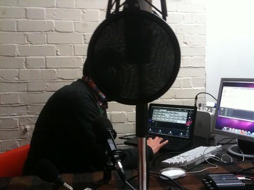 Massive head radio man
