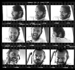 Jack Nicholson, Montana, by Harry Benson 1975