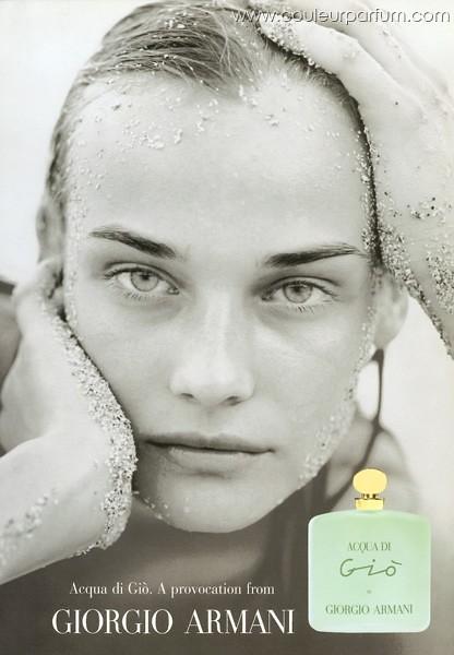 Acqua di Gio Perfume Diane Kruger