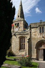 The Parish Church of St Lawrence, Warkworth