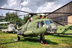 Soviet Helicopter Mil' Mi-8. Советский вертолет Миля Ми-8.
