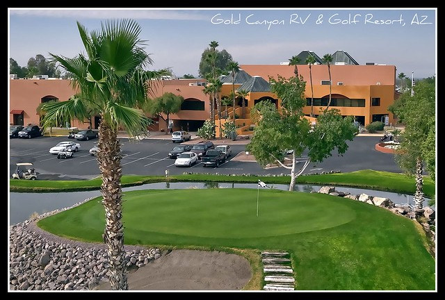 Gold Canyon (AZ) United States  city pictures gallery : Gold Canyon RV & Golf Resort, AZ | Click for Larger View IM ...