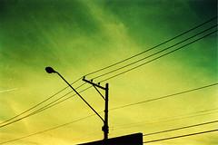 Electric melon sky