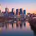 Philadelphia Sunset by chris lazzery