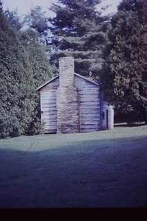 1966, Typical Mountain Home, Maybry Mill, Blue Ridge Parkway