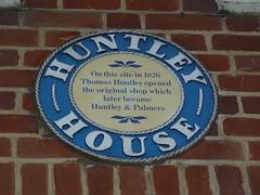 Photo of Thomas Huntley blue plaque