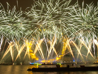 2011 London firework show