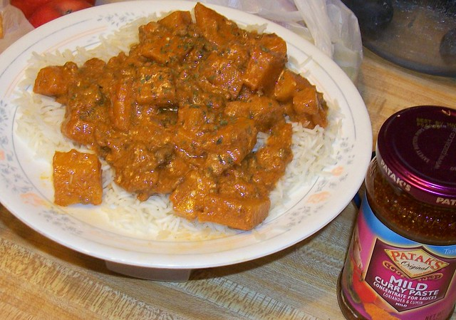 Pumpkin Beef curry | Red Curry Beef and Pumpkin. 1lb ground ...