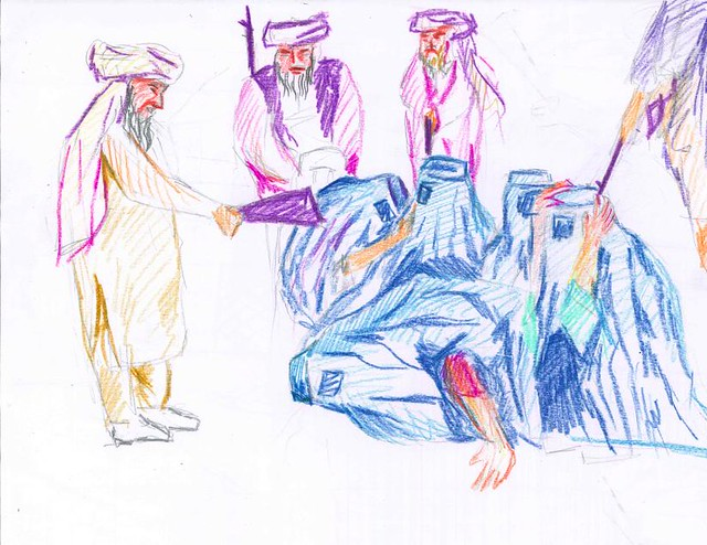 Artwork by Afghan High School Students