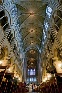 France - Paris - Notre Dame Interior 02