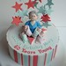 Cake for a midwife by Incredible Edible Cakes