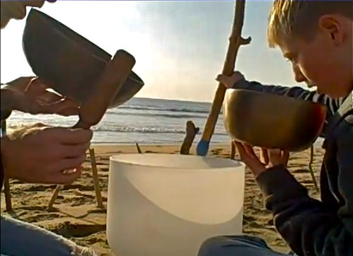 Sound Healing ~ Sunset Beach ~ 1-8-11