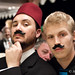Wil and Ryan have moustaches by Atom Moore