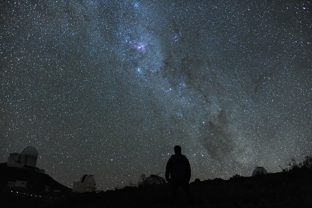 Starry night at La Silla