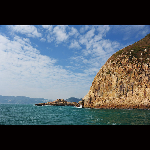 sea sky rock hongkong scenery nationaltreasure geopark thehongkongnationalgeopark