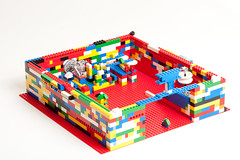 play(0.0), playground(0.0), toy block(1.0), lego(1.0), toy(1.0),