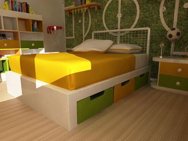 Kids 39 rooms a gallery on flickr - Camitas para ninos ...