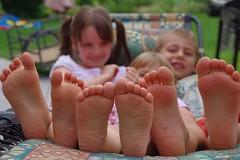 Une histoire de pieds...