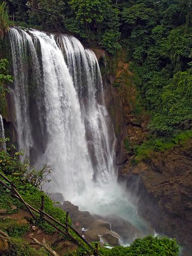 Pulhapanzak waterfall by Adalberto.H.Vega