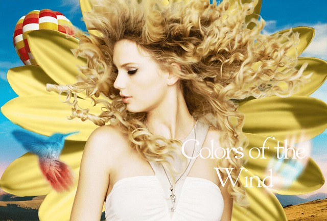 Taylor Swift - Colors of the Wind (Gif)