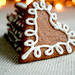 Christmas feeling with heart gingerbreads