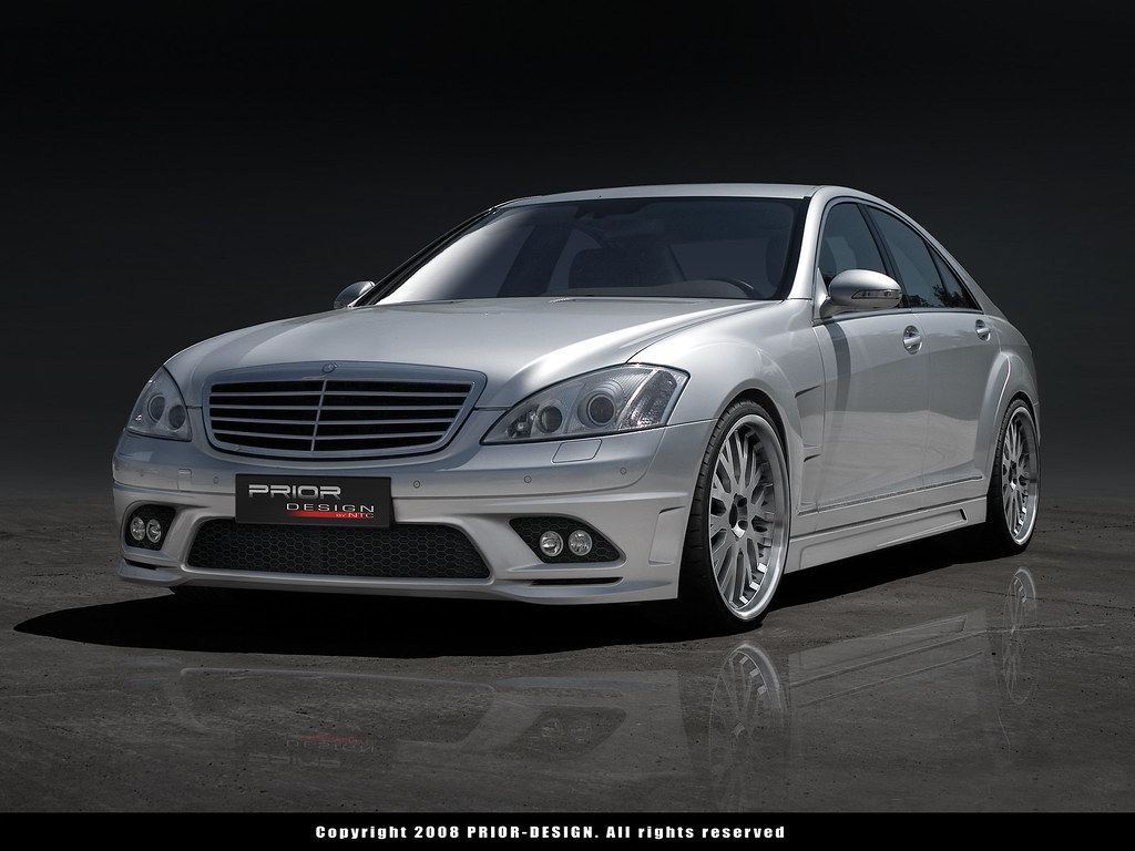 Prior design mercedes benz s class s430 s500 s550 s600 s55 for S430 mercedes benz
