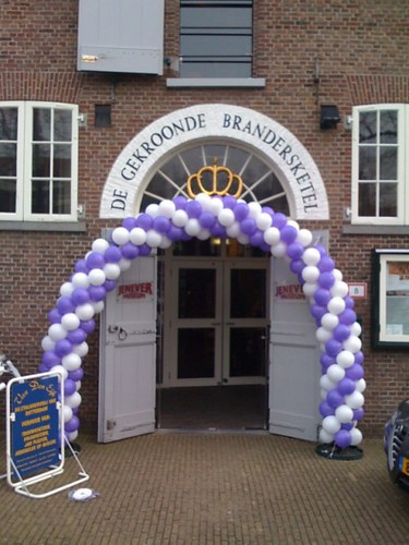 Ballonboog 6m Jenevermuseum Schiedam