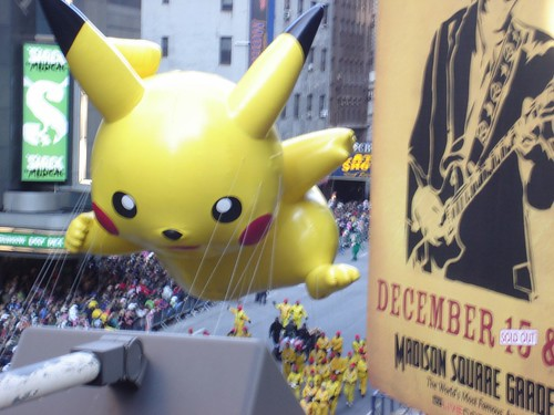 Thanksgiving Day parade - Pikachu