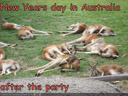 New years day in Australia
