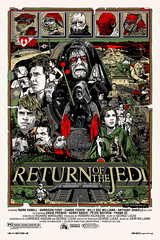 """Return of the Jedi"" by Tyler Stout"