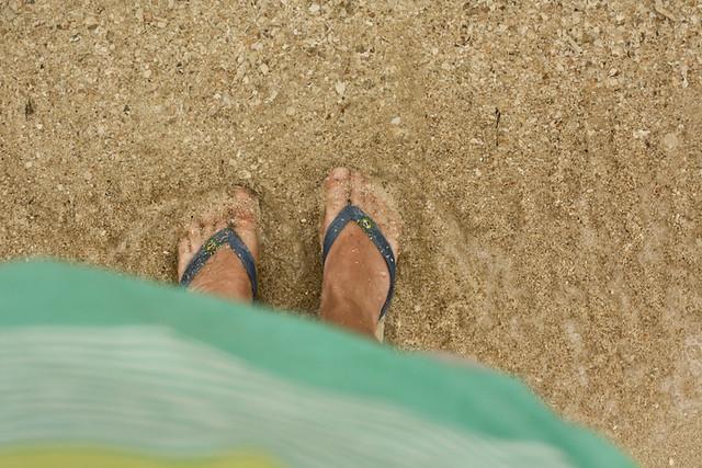 Naka beach.