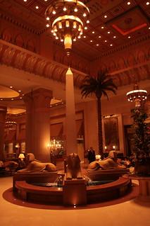 Lobby of the Intercontinental Cairo