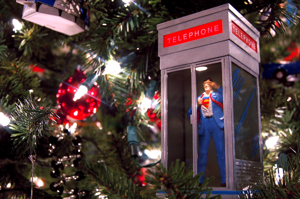 1995 Superman Telephone Booth Ornament | Photos | JD Hancock