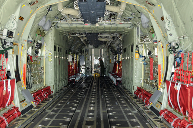 Interior Of New Lockheed Martin C 130j Hercules Flickr