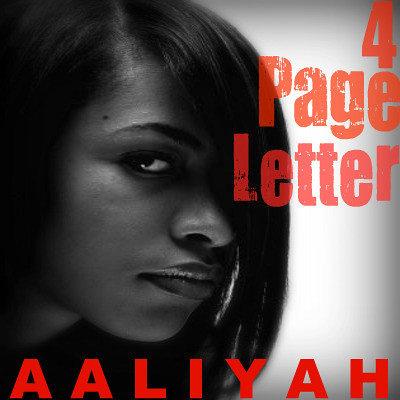 Page Letter - Aaliyah | Flickr - Photo Sharing!
