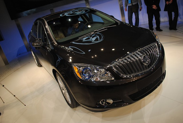 2011 Detroit: 2012 Buick Verano