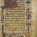Psalter, f.7, (194 x 129 mm), 15th century, Alexander Turnbull Library, MSR-01.