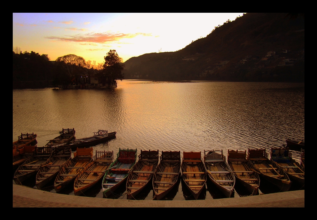 Bhimtal at Dusk