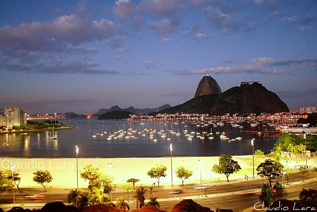 Pão de Açúcar e Enseada de Botafogo - Rio de Janeiro
