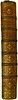 Spine of binding of Petrarca, Francesco: De viris illustribus [Italian]