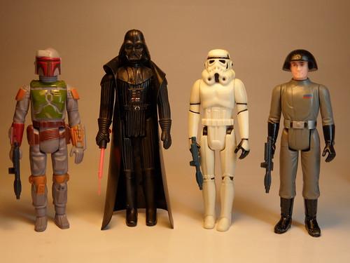 Kenner Star Wars Toys : I miss my childhood vintage star wars kenner action figures