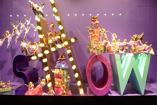Le show musical de no l des galeries lafayette le journal des vitrines - Vitrine noel galerie lafayette ...