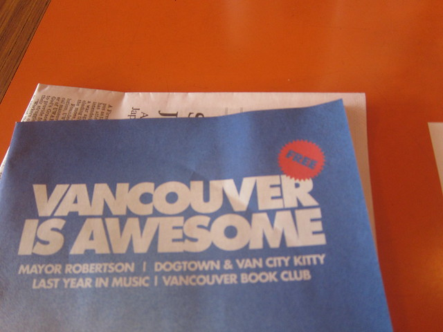 Vancouver Is Awesome | Discorder Magazine