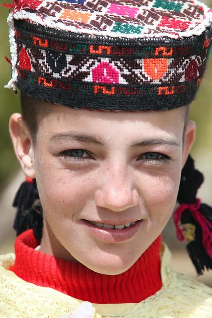 タシュクルガン、タジク族の美少女