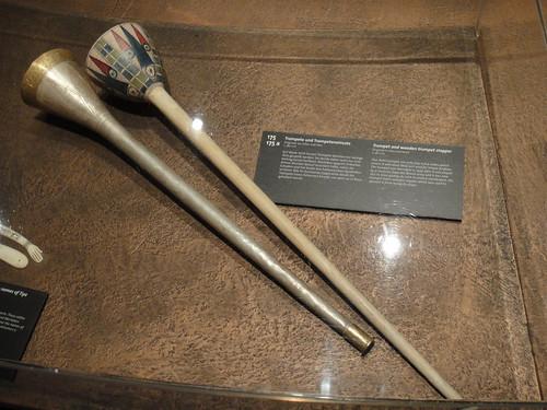 King Tut's Silver Trumpet
