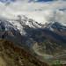 Mountain Vistas on Way to Yak Lake - Annapurna Circuit, Nepal