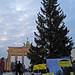 Aktion gegen rechtswidrige Polizeigewalt vor dem Brandenburger Tor, 20.11.2010 Berlin.