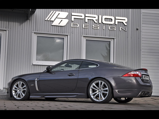 Photo:Prior Design Jaguar XK/XKR Aerodynamic full body kit By Prior Design NA (priordesignusa.com)
