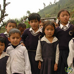 Curious School Kids - Sikkim